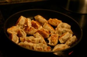 browning dumplings