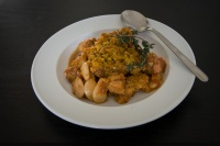 french pork cassoulet