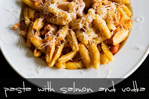 Smoked salmon pasta recipes vodka