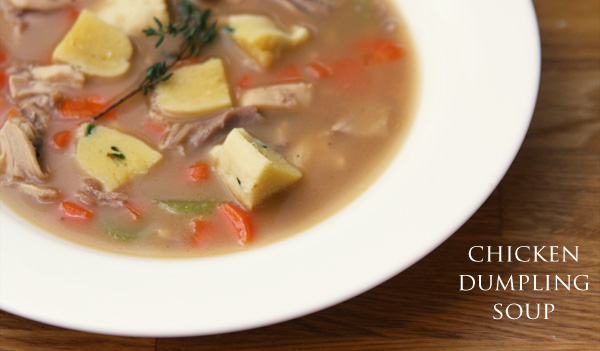 thomas keller's chicken dumpling soup | the klutzy chef